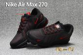 sneakers nike uomo air max 2018 essential black red